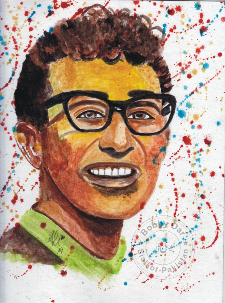 Buddy Holly par bobbydar01@gmail.com